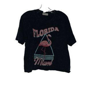 Miami Florida Crop Top T-Shirt